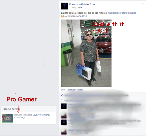 You're a Pro or a n00b. That's life!