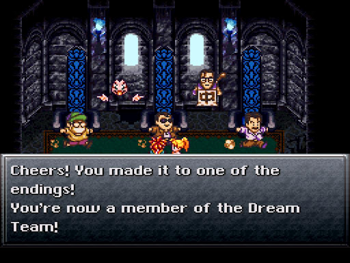 "El ""Dream Team"", responsable de tan maravilloso juego."
