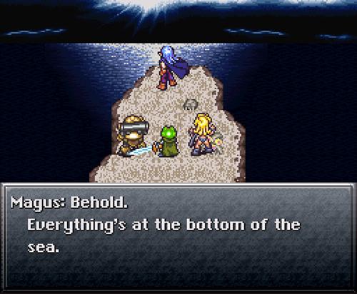 Mi primer encuentro con Chrono Trigger. Sin imaginarme que sería algo grandioso.